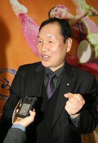''韓國相聲藝術家、慶尚北道環境運動實踐協會常務代表李愚大''
