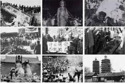 '中共史無前例的「破四舊」,意在摧毀中國傳統文化'
